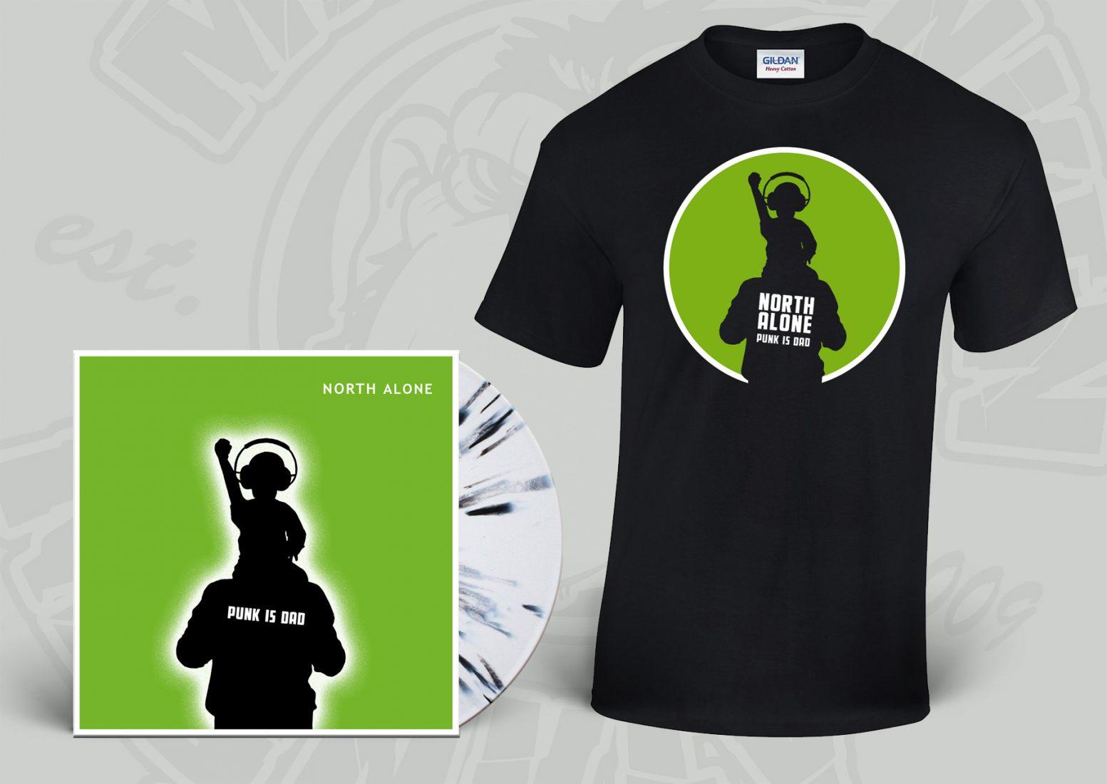 White / Black Vinyl + Shirt